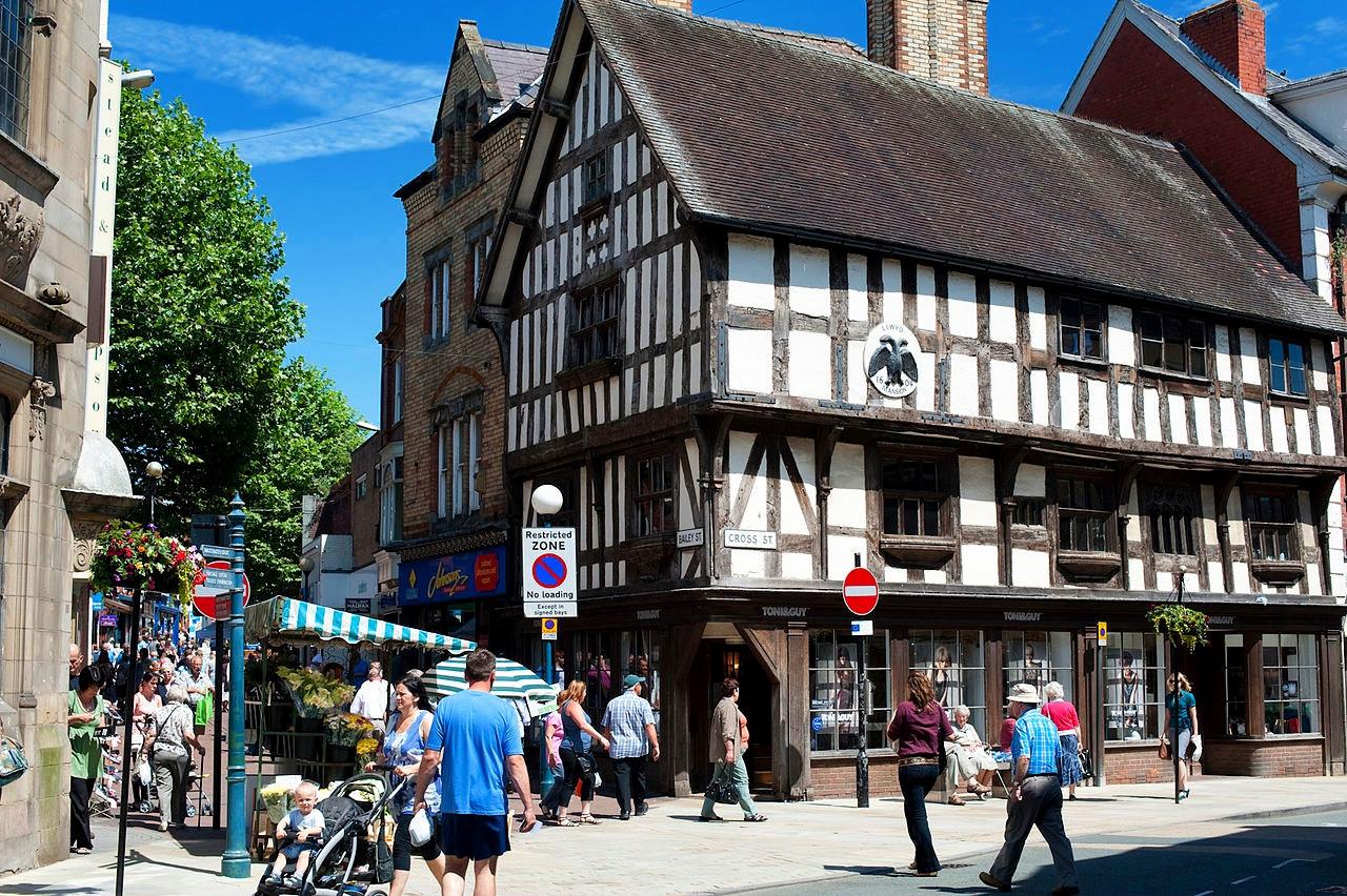 Oswestry, Shropshire. Credit Shropshire & Telford TSB