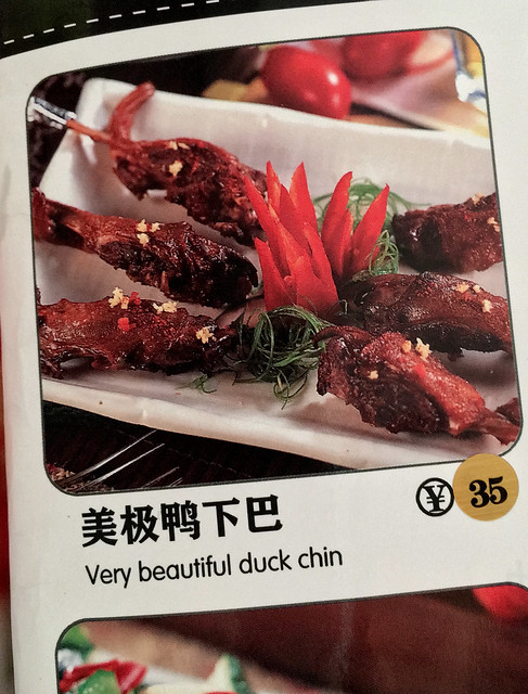 Very Beautiful Duck Chin