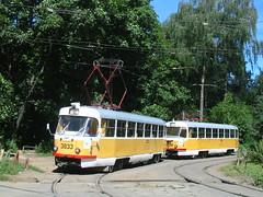 Moscow tram Tatra T3SU 3833