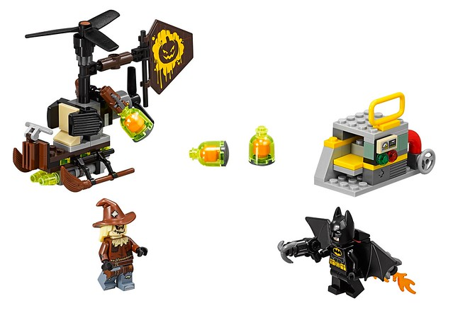 70913 Scarecrow's Gyrocopter
