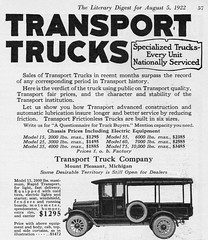 1922 Transport Model 15 Truck