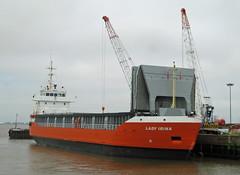LADY IRINA at New Holland Dock