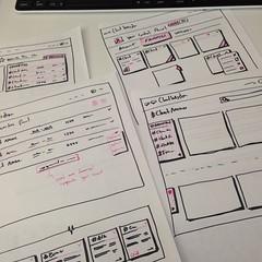 Making plans #UI #app #sketch