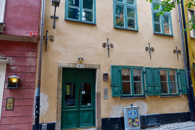 House in Gamla Stan (Old Town), Stockholm