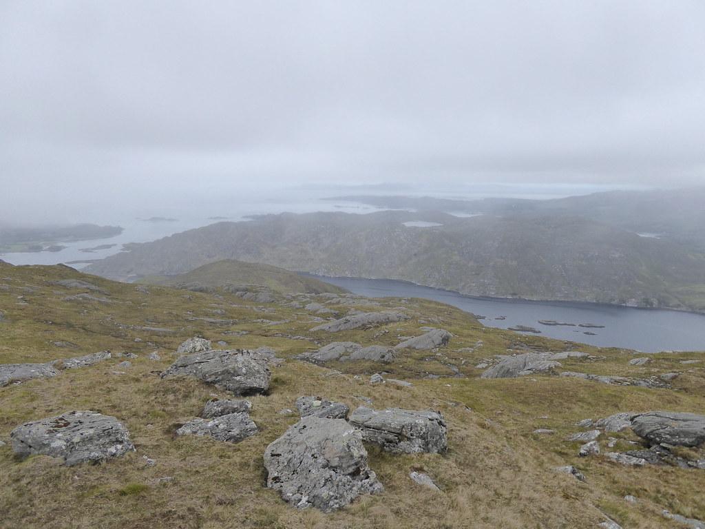 Down to Lochailort from An Stac