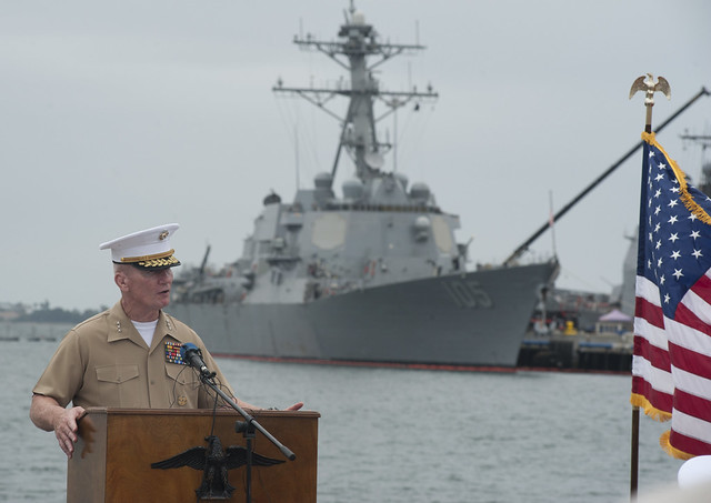Ship Naming Ceremony Held in San Diego for Three Destroyers