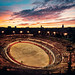 A Sunset After the Bullfight in Nimes by Stuck in Customs