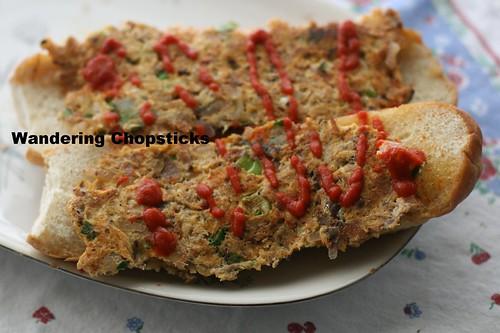 Singaporean Roti John with Sardines 2