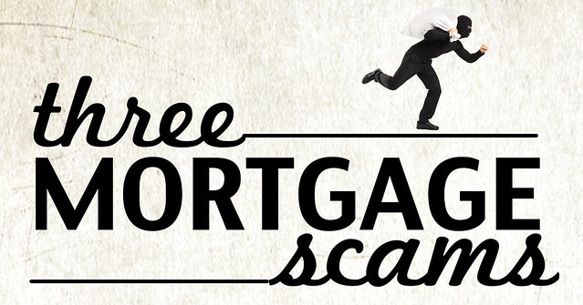 three mortgage scams banner