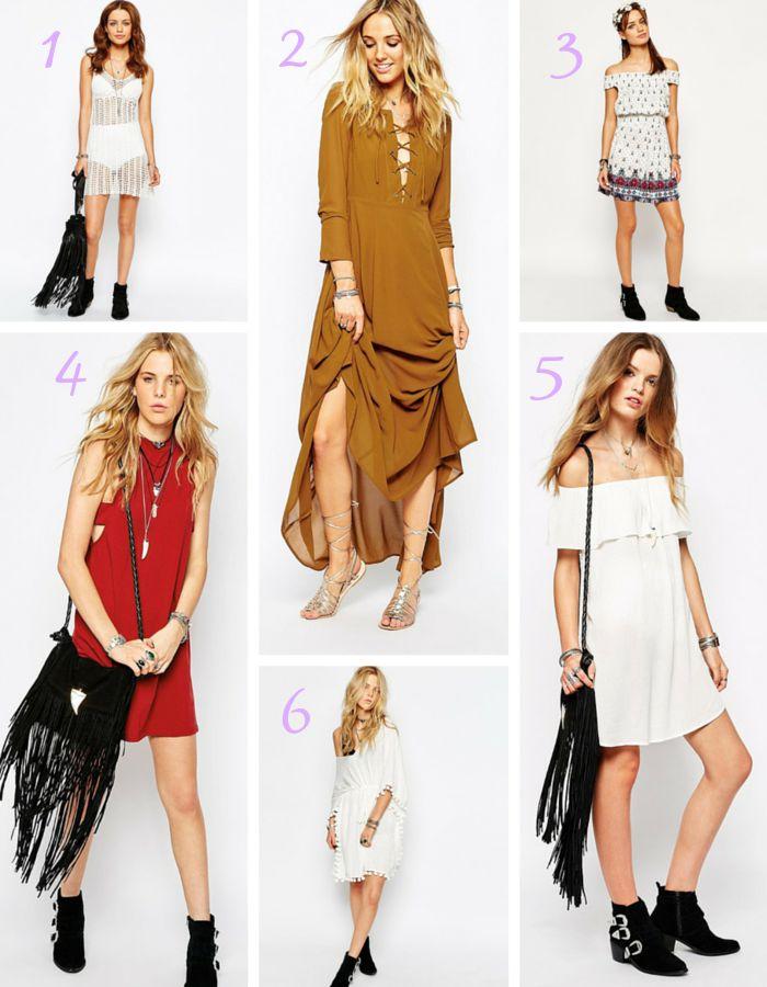 vestidos glamorous