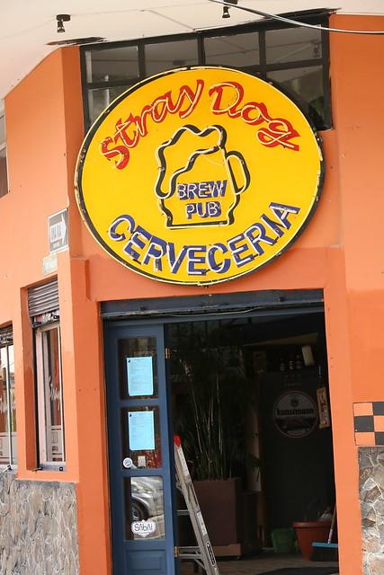 Some ok beers. Banos, Ecuador.