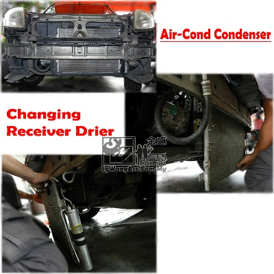 Car Auto Air Cond Compressor Original Recond Myvi