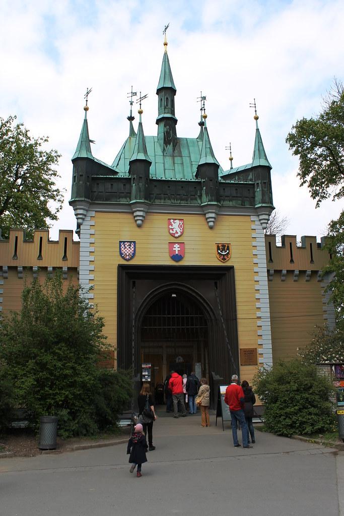 Mirror Maze in Petřín