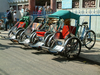 cycle rickshaws