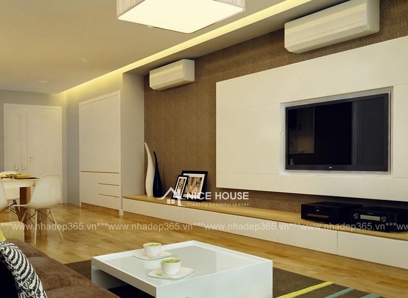 Thiết kế nội thất chung cư Mipec Anh Sơn Hà Nội_06