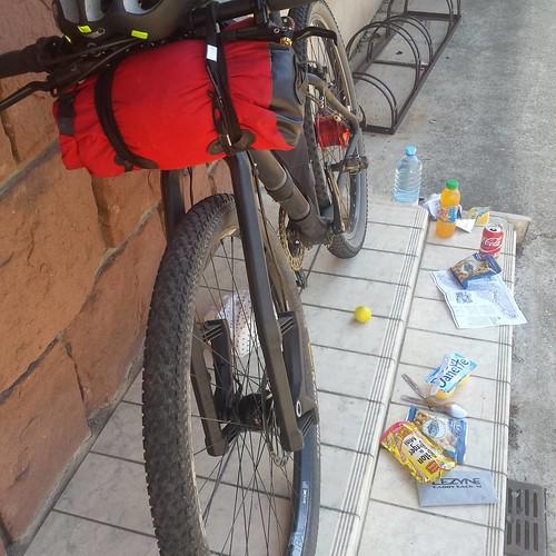 Breakfast @ Wimmenau #bikepacking #lesvosges #france