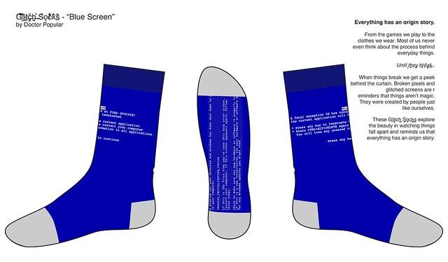 Glitch Socks: BSoD