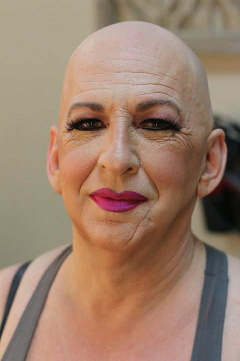 Image result for bald transsexual