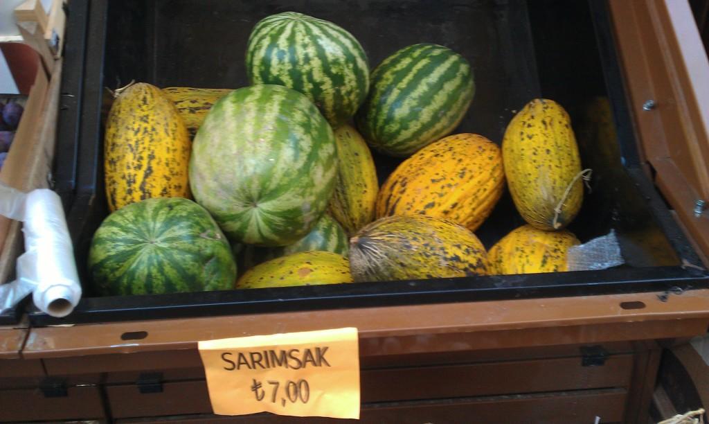 西瓜與哈密瓜