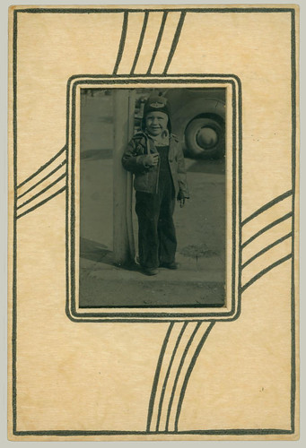 Small boy Tintype