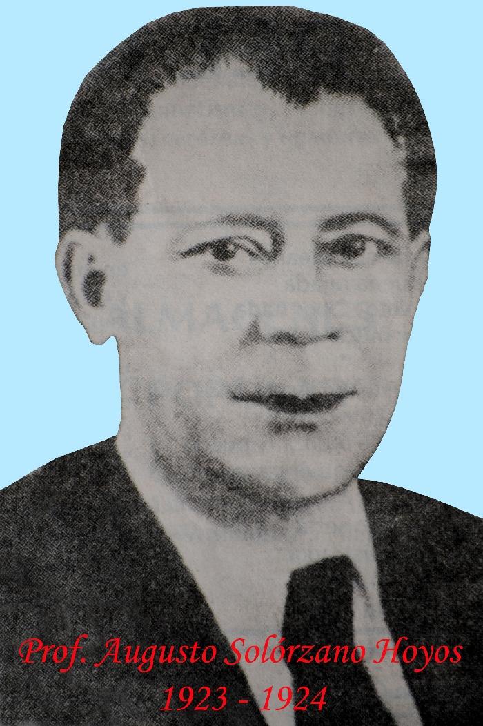 Prof. Augusto Solórzano Hoyos