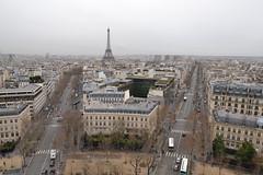 Blick vom Arc de Triomphe 4