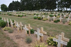 French wargraves at Cerny-en-Laonnois (France 2015) - Photo of Œuilly
