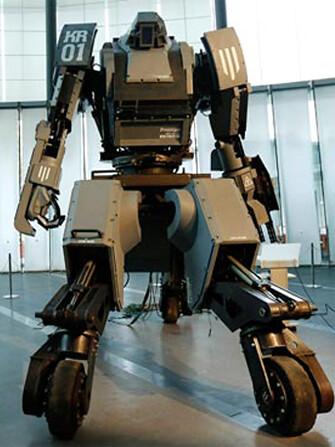 A Primeira Batalha entre Robôs está mais Próxima que vocês Imaginam!