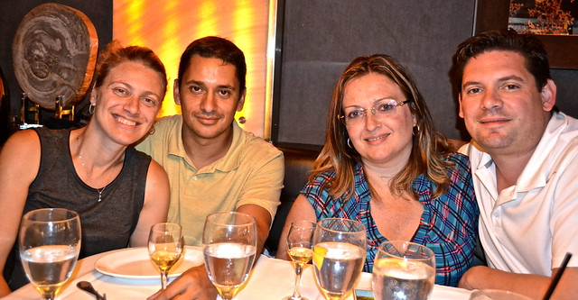 Dining with friends - Ocean Prime Philadelphia