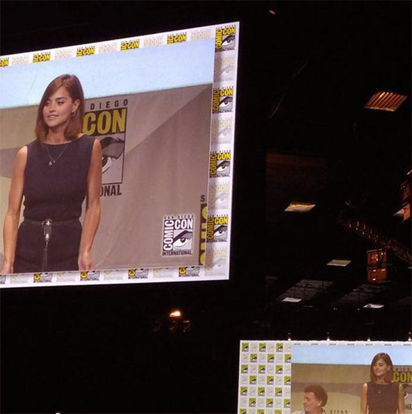 SDCC Doctor Who Jenna Coleman