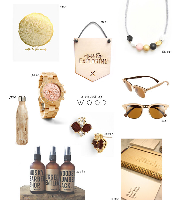 loving... wood - wooden - accessories