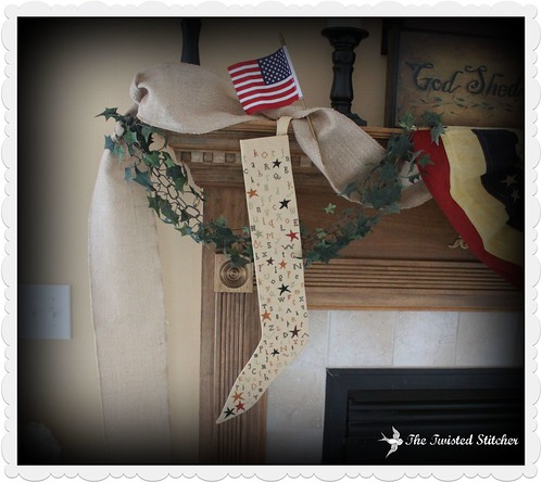 Carriage House Samplings  - A Primitive Stocking