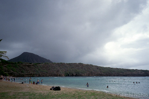 rainy & cloudy Hanauma Bay