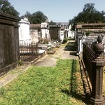 Lafayette Cemetery No. 1. Got a tour from the cemetery custodian and learned about how they bury people.