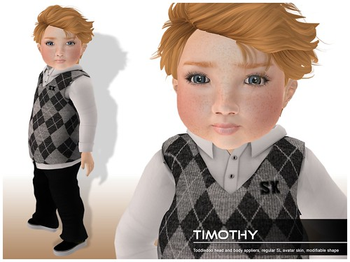 Deluxe Body Factory - Timothy skin Toddleedoo baby boy