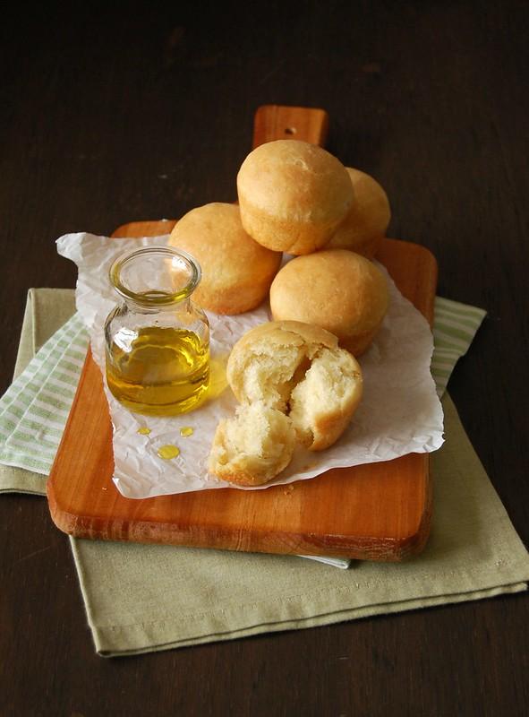 Olive oil buns / Pãezinhos de azeite de oliva