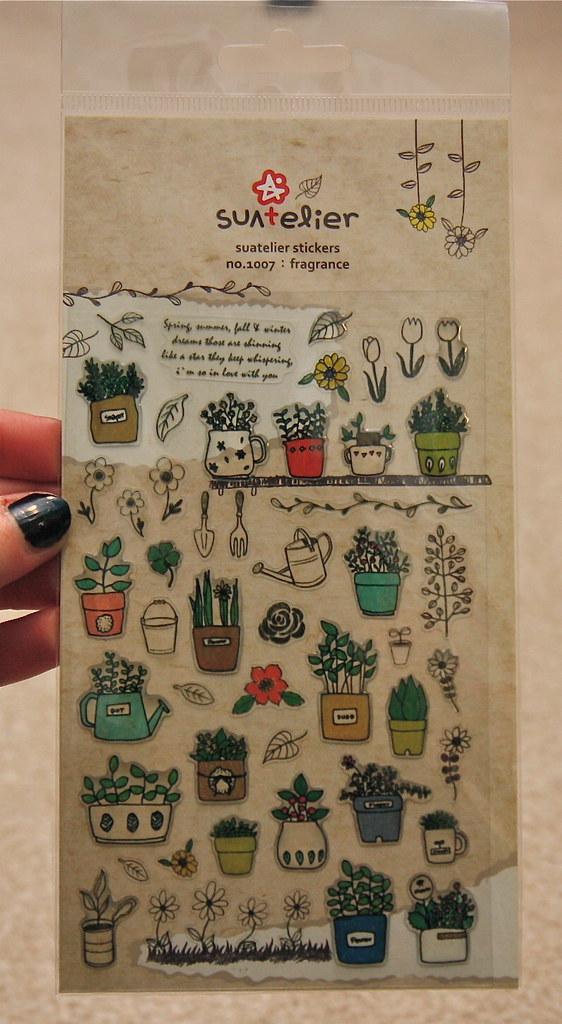 Artbox su atelier fragrance stickers