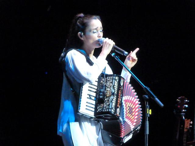 Julieta Venegas en el Festival Cap Roig (Costa Brava)