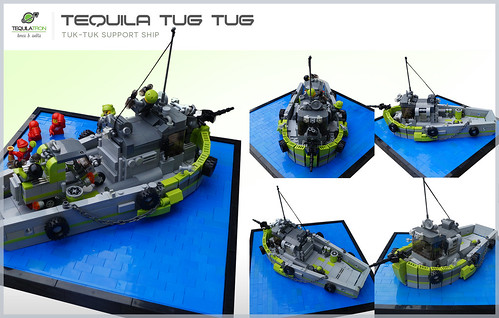 Tequila Tug Tug - Angles - D.A.2 Support ship