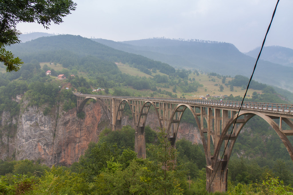 Montenegro, Tara River Bridge
