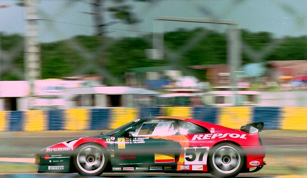 Ferrari 348 GTC-LM - Tomas Saldaria, Alfonso de Orleans & Andres Vilarino at the 1994 Le Mans