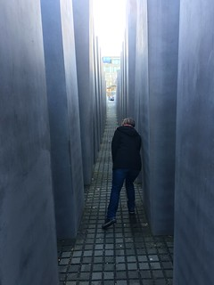 Image of Memorial to the Murdered Jews of Europe near Tiergarten. berlin germany ab holocaustmemorial holocaustmahnmal