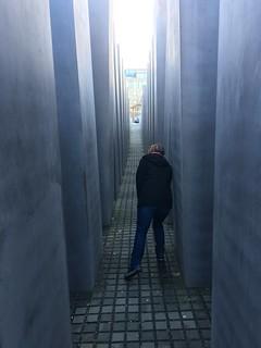 Image of  Memorial to the Murdered Jews of Europe  near  Tiergarten. berlin germany ab holocaustmemorial holocaustmahnmal