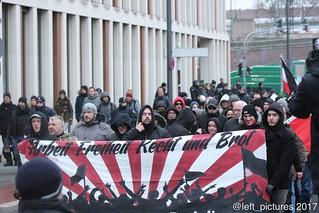 14.01.2017 - Nazi-Demo Köln
