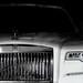 the eye of a Rolls-Royce