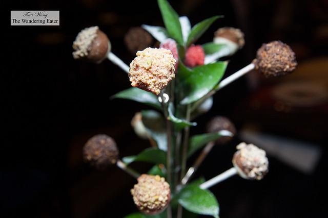 Cheesecake Lollipop Tree