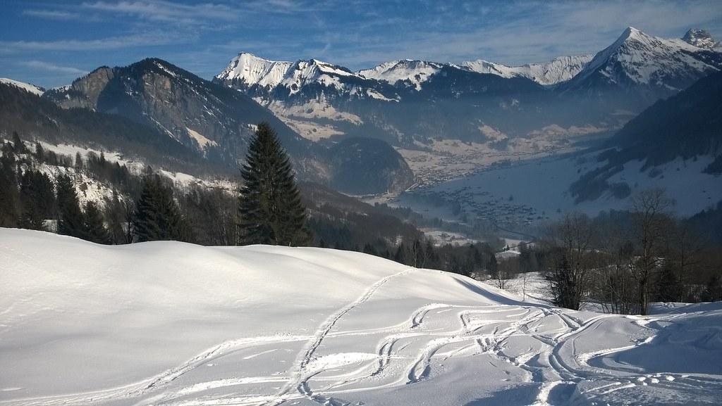 Ski- und Schneeschuhtouren Bregenzerwald 22.01.-27.01.2017