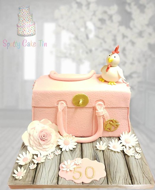 Cake by Spotty Cake Tin