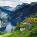 Blomberg farm - Geiranger - Norway by Frédéric Lefebvre - Landscape photography