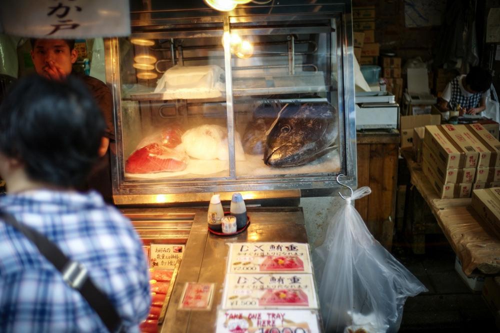 風情文化/探访世界上最具传奇色彩的东京築地魚市 Tsukiji Fish Market2
